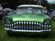 美国镀铬物汽车 免版税库存图片