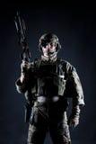 美国陆军别动队员 免版税库存图片