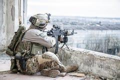 美国陆军别动队员 库存照片