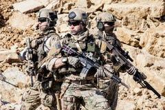美国陆军别动队员 免版税库存照片