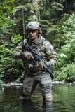 美国陆军别动队员 库存图片