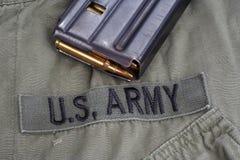 美国陆军在越南-越南战争中期间概念 库存图片