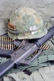 美国陆军在越南 库存照片