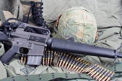 美国陆军在越南 免版税库存照片