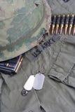 美国陆军在越南 免版税库存图片