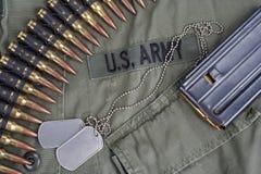 美国陆军在越南 图库摄影