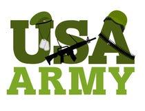 美国陆军 军事文本商标 美国军队 绿色误码率 皇族释放例证