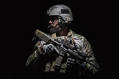 美国陆军绿色贝雷帽 免版税图库摄影