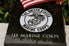 美国陆战队平板 免版税库存照片