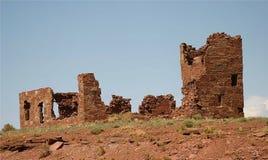美国陨石博物馆废墟 免版税图库摄影