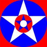 美国颜色 免版税库存照片