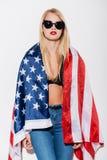 美国风格 库存照片