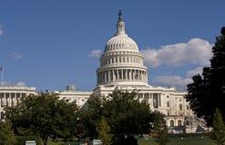 美国首都大厦。 免版税库存图片