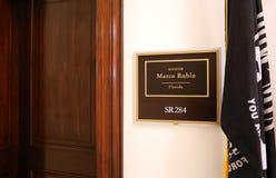 美国马克罗・鲁比奥参议员办公室 免版税库存图片