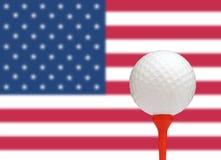 美国高尔夫球 库存照片