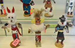 美国,亚利桑那, 30,06,2016在纪念品店墨西哥和nat 免版税库存照片