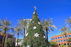 美国,亚利桑那:圣诞节在坦佩 图库摄影