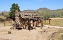 美国,亚利桑那:老西部-大农场(大约1870) 免版税库存图片