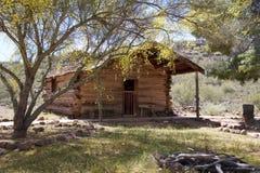 美国,亚利桑那:老西部-客舱(1878) 库存照片