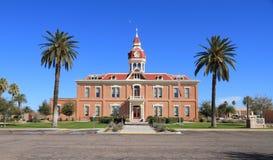 美国,佛罗伦萨/亚利桑那:第2座皮纳尔县法院大楼1891 库存照片