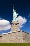 美国,纽约,自由女神像 免版税库存图片