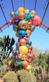 美国, AZ :Chihuly展览- Polyvitro枝形吊灯, 2006年 免版税库存图片