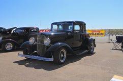 美国:古色古香的车的1932年福特5窗口coupé 免版税库存图片