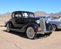 美国:古色古香的车的1934年薛佛列 库存图片