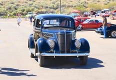 美国:经典汽车:1937年福特标准托特轿车 免版税图库摄影