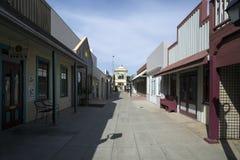 美国-亚利桑那-尤马和他的主路 免版税库存图片