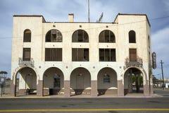 美国-亚利桑那-尤马和他的主路 库存图片