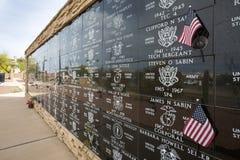 美国-亚利桑那-尤马武力公园 免版税库存照片