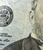 美国货币五十美金 免版税库存图片