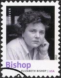 美国- 2012年:展示伊丽莎白・毕晓普1911-1979,美国诗人、小说家和短篇小说作家, 免版税库存照片