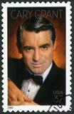 美国- 2002年:展示加里・格兰特出生的Archibald亚历山大过滤1904-1986,演员 免版税库存图片