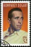 美国- 1997年:展示Humphrey砍伐山林Bogart 1899-1957,演员 免版税库存照片