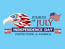 美国7月第4 免版税图库摄影