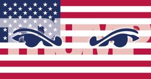 美国- 2016年11月-唐纳德・川普,美国的第45位总统 免版税图库摄影