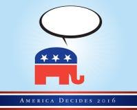 美国2016次竞选 库存图片
