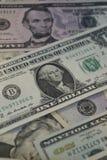 美国 票据美元一 免版税库存图片