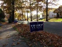 美国总统选举2016年,王牌,便士,再使美国伟大 库存照片