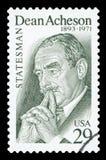美国-邮票 免版税图库摄影