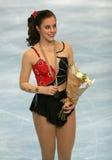 美国ashley花样滑冰运动员 免版税图库摄影