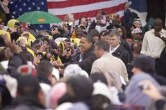 美国Barack Obama参议员 免版税库存图片