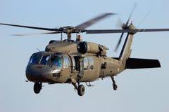美国Blackhawk直升机 免版税图库摄影