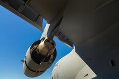 美国C-17 Globemaster喷气机运输飞机 图库摄影