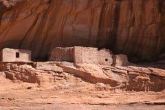 美国chelly峡谷de当地人废墟 免版税库存照片