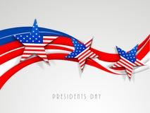 美国Day总统庆祝概念 免版税图库摄影