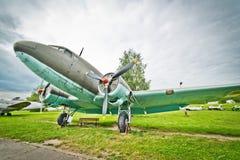 美国DC-3 Lisunow李2执照  免版税库存图片