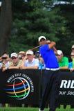 美国PR高尔夫球运动员老虎伍兹 免版税库存图片